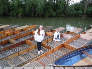 Cherwell boat house in Oxford