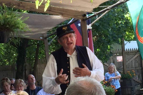 Lunch at Farnsworth Inn with talk from Civil War Soldier Program